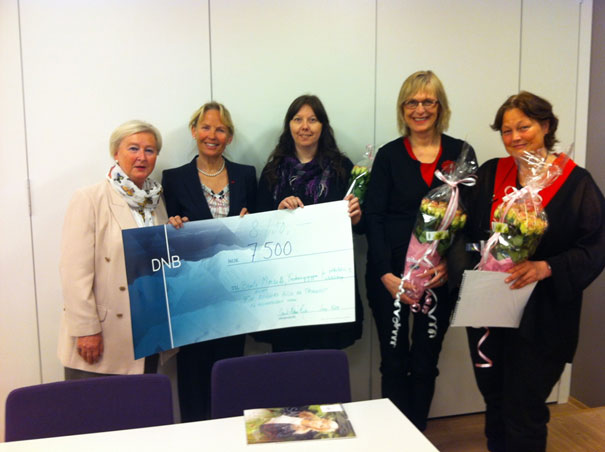 Fra venstre: Solveig Melbye, Gerd Kjos, Bente Morseth, Maja-Lisa Løchen og Ingrid Toft