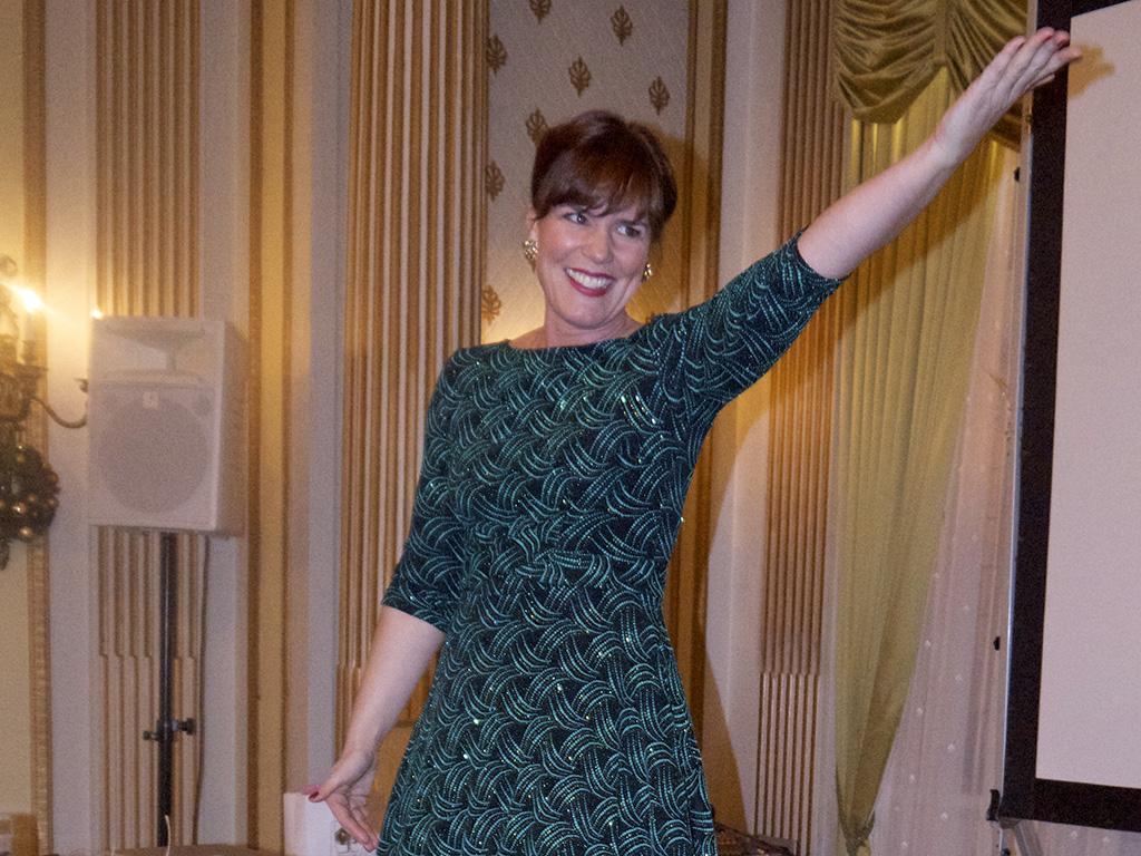 Sopran Isa Katharina Gericke underholder