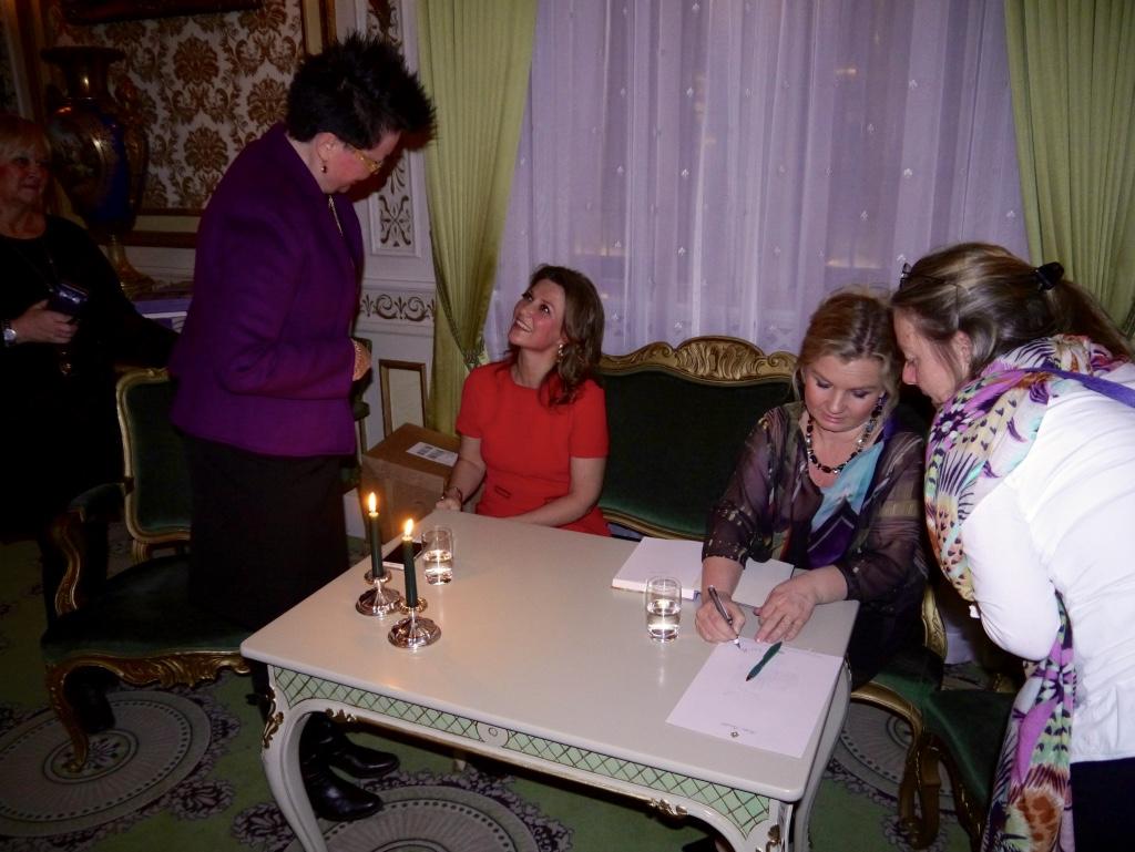 Bilder fra festaften med prinsesse Märtha Louise