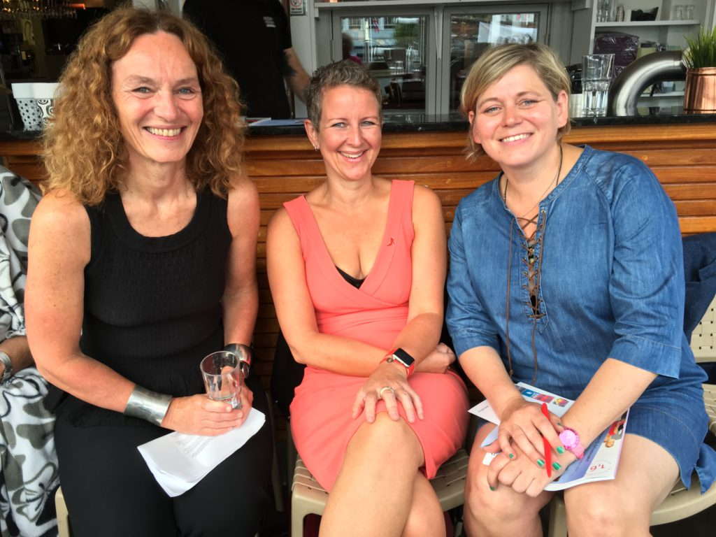 Camilla Stoltenberg, Anne Kristine Bergem og Jeanne Mette Goderstad