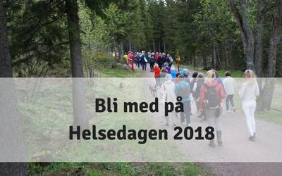VELKOMMEN TIL HELSEDAGEN 28.MAI 2018
