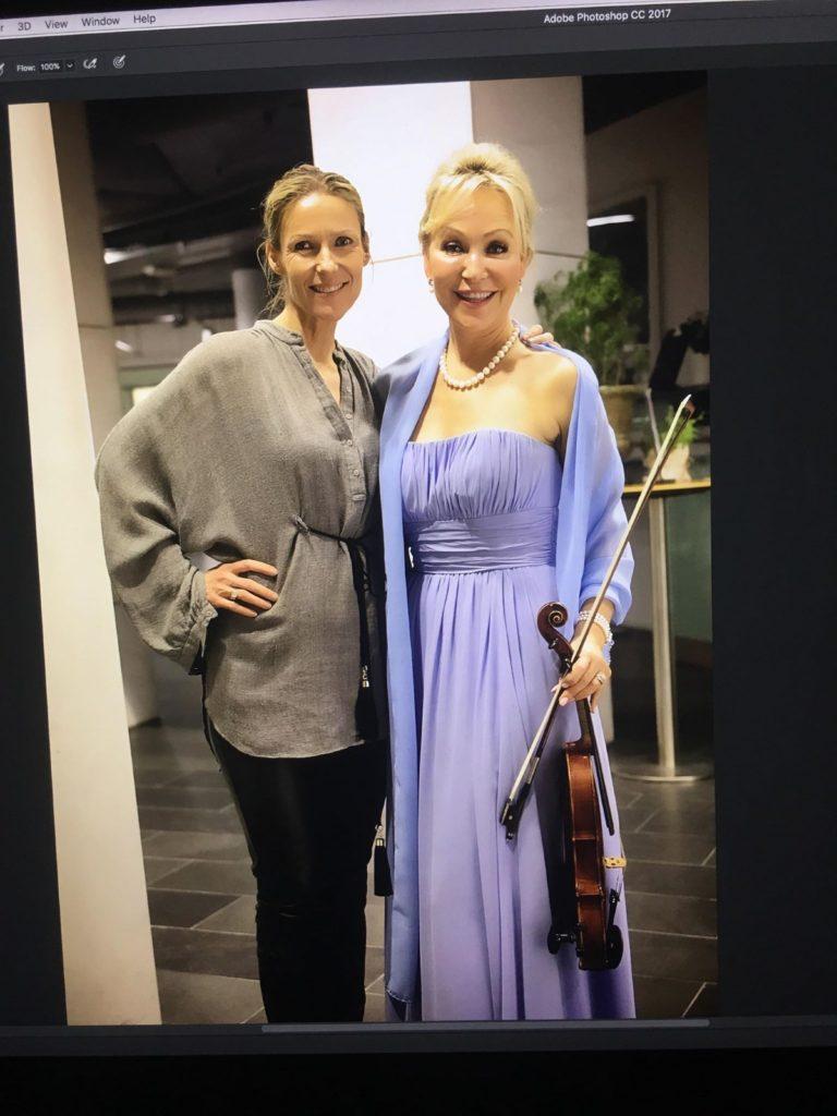 Gro Elisabet og Helene Sandvig