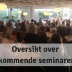 Kommende seminarer