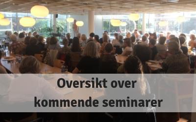 Oversikt over kommende seminarer