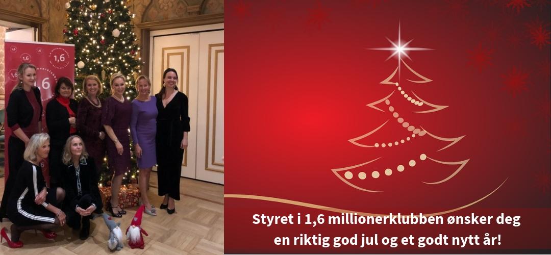 God jul fra styret i 2018