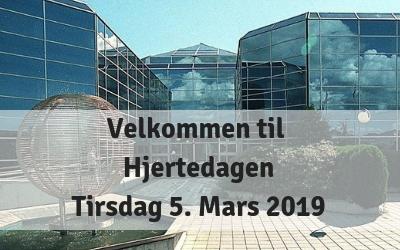 Velkommen til Hjertedagen – Tirsdag 5. mars 2019