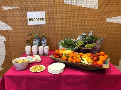 Frukt og drikke fra Bunnpris