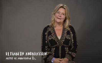 Videohilsen fra vår ambassadør Elisabeth Andreassen