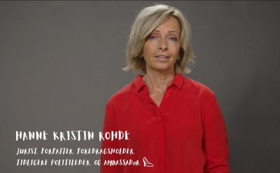 Videohilsen fra vår ambassadør Hanne Kristin Rohde