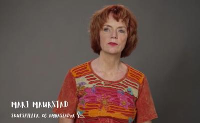 Video-hilsen fra vår ambassadør Mari Maurstad