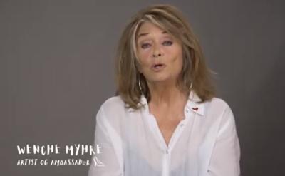 Video-hilsen fra vår ambassadør Wenche Myhre